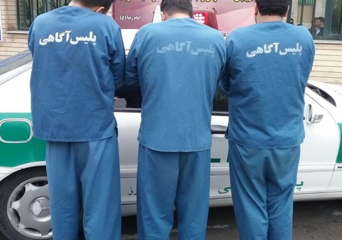 سارقان حرفه ای با ۳۰۵ فقره سرقت در کرج دستگیر شدند