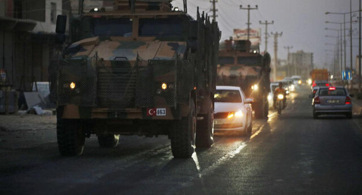 غارت غلات سوریه توسط نظامیان آمریکایی