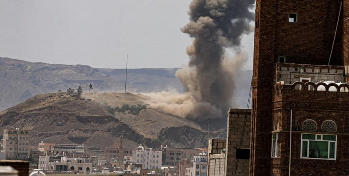 حمله جنگندههای ائتلاف سعودی به دو منطقه در صنعا