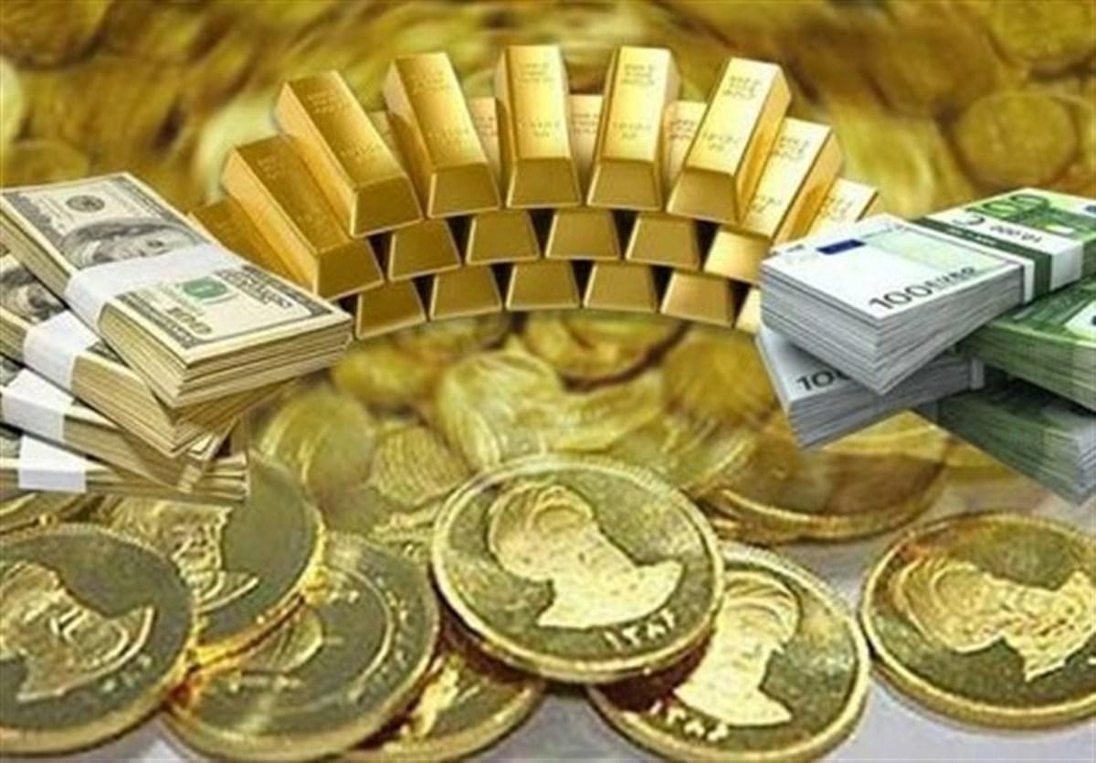 قیمت طلا، سکه و دلار امروز ۱۴۰۰/۰۴/۱۷| دلار و سکه گران شدند