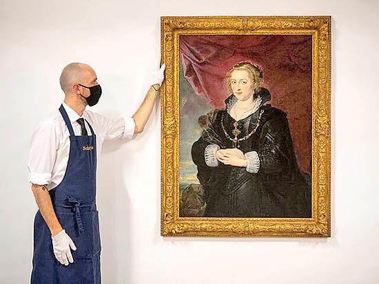 کشف اثر «روبنس» بعد از ۱۴۰ سال
