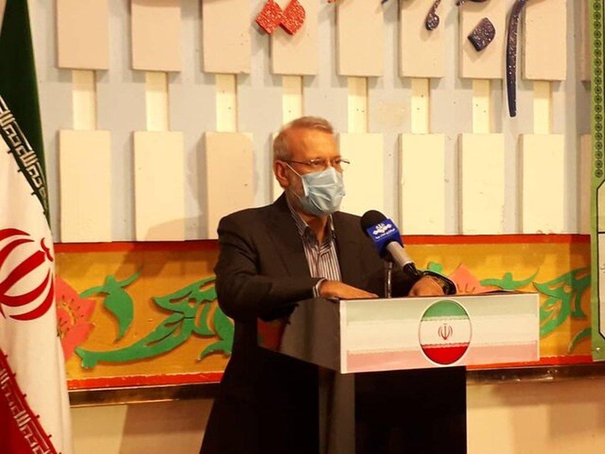 لاریجانی پس از رای دادن: دلیل عدم احراز تا کنون به من اعلام نشده
