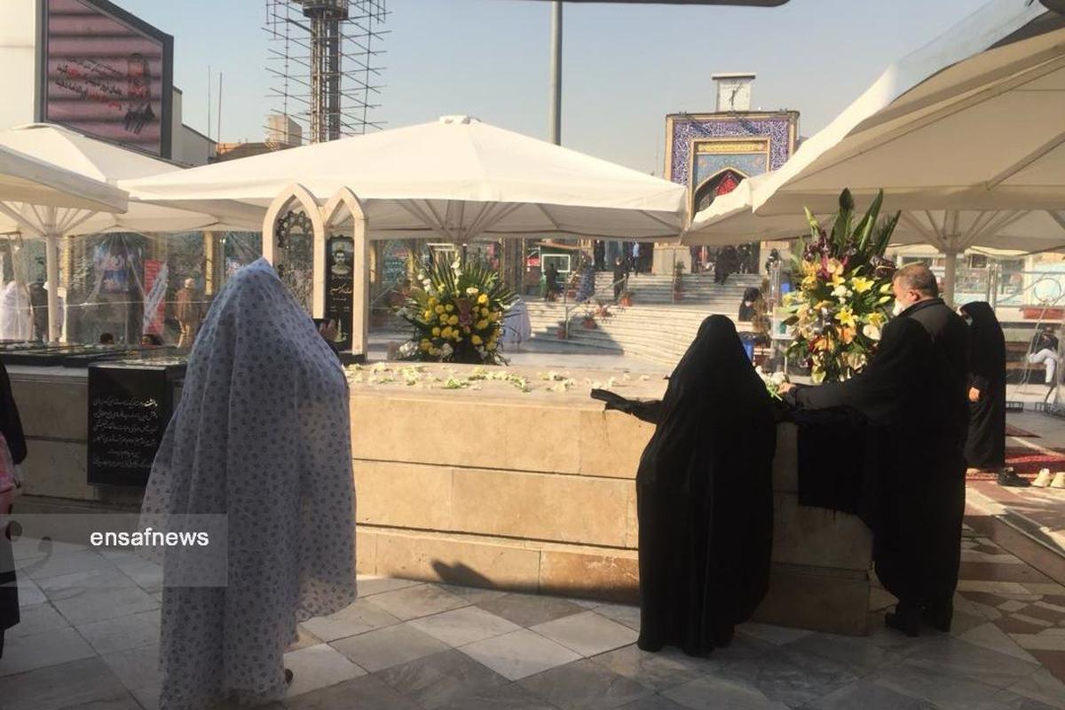 علت تعویض سنگ قبر کشتهشدگان هواپیمای اوکراینی در امامزاده صالح