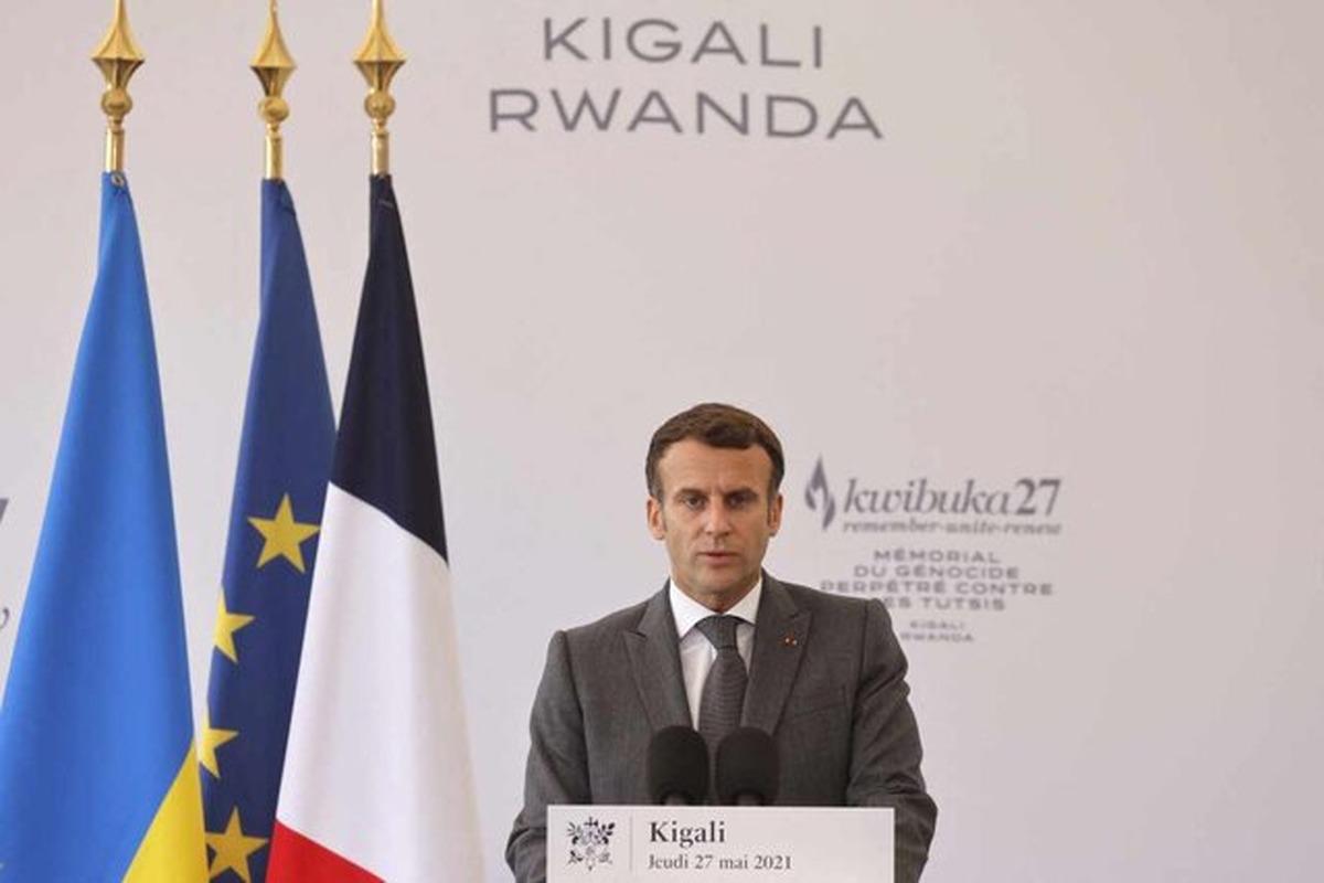 ماکرون مسؤولیت فرانسه در نسلکشی رواندا را پذیرفت