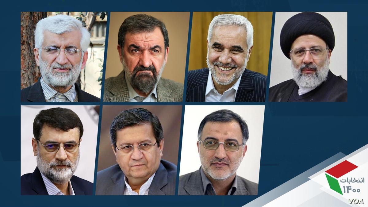 نامزدهای انتخابات ۱۴۰۰    رئیسی و همتی به ترتیب در صدر قرار دارند