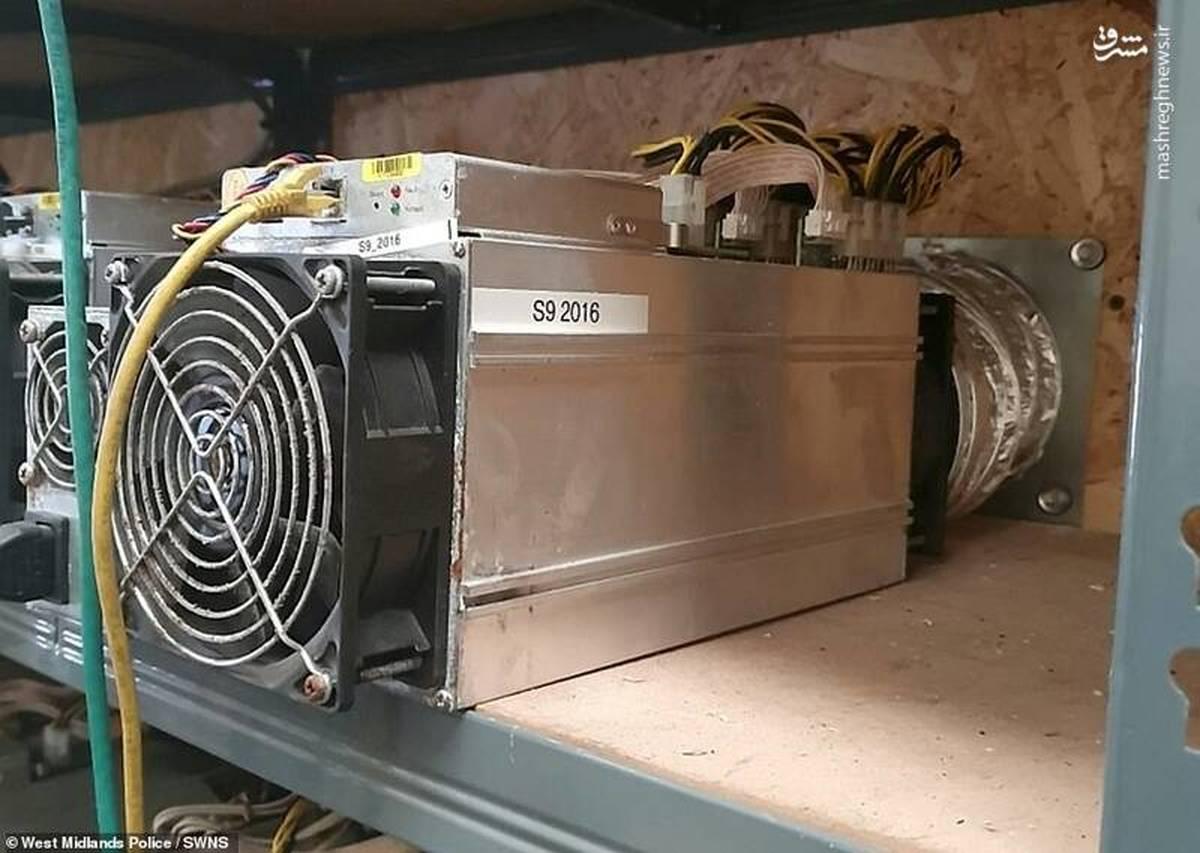 بزرگترین کارگاه غیرقانونی استخراج بیت کوین کشف شد +عکس
