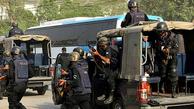 حمله مسلحانه    یک خودروی مسافربری در پاکستان  به رگبار بسته شد