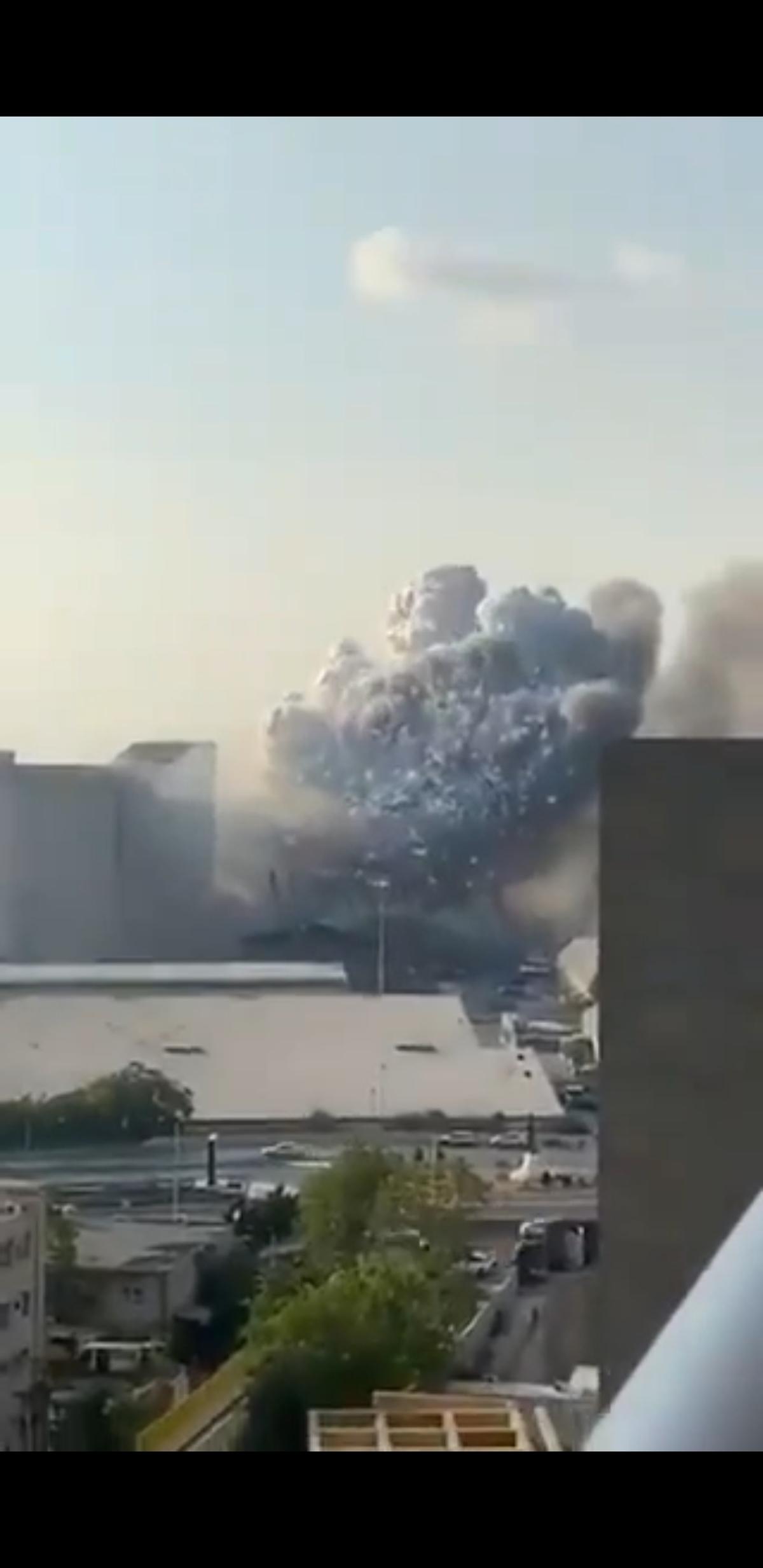 وقوع دو انفجار در پایتخت لبنان + ویدئو
