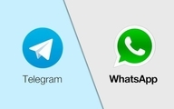 واتساپ و تلگرام محبوبترین پیامرسانها برای ایرانیان
