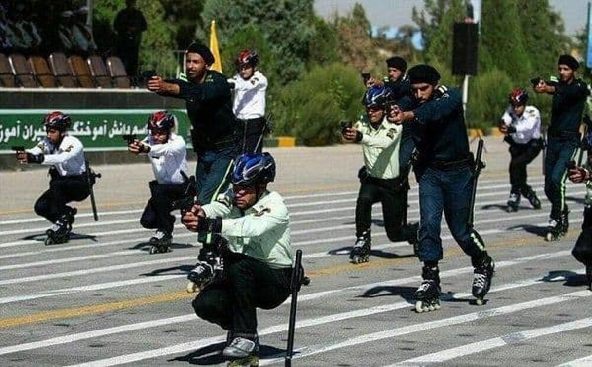پلیس های اسکیت سوار به شهر می آیند
