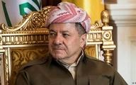 مسعود بارزانی: خواستهها برای خروج نیروهای آمریکایی از عراق احساسی است!