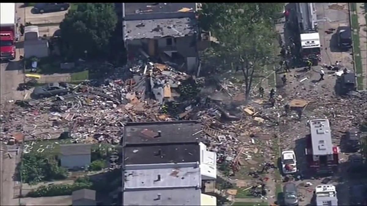 آمریکا  |  انفجار در منطقهای مسکونی در شمال غرب بالتیمور