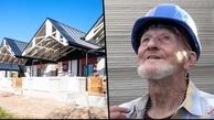 پیرمرد  بی خانمان نخستین ساکن خانه 3D شد