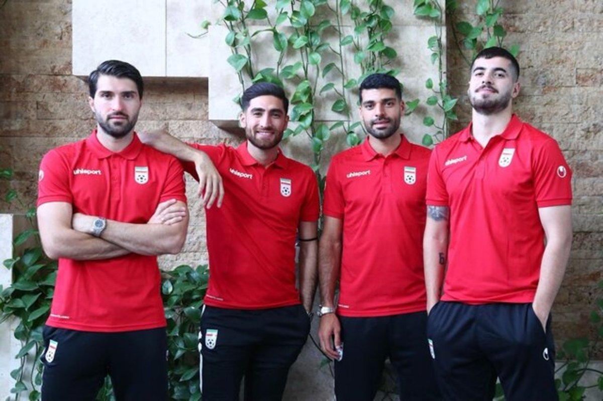خروج تیم ملی ایران از قرنطینه قطریها