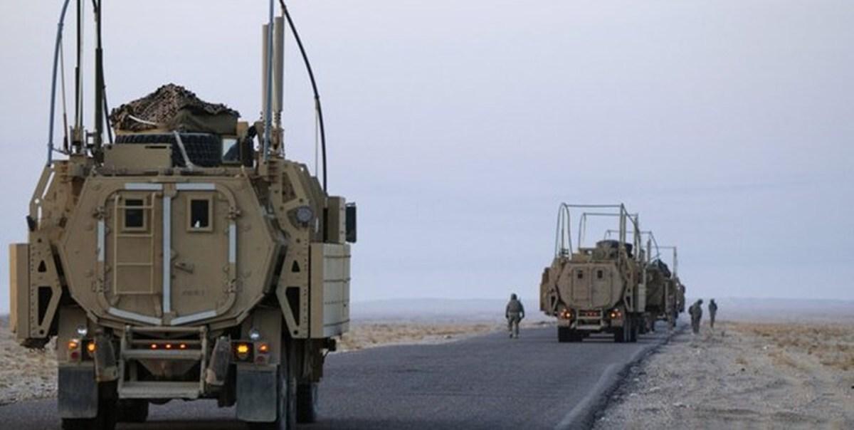 عراق  |  پنجمین کاروان لجستیکی آمریکا روز جمعه هدف قرار گرفت.