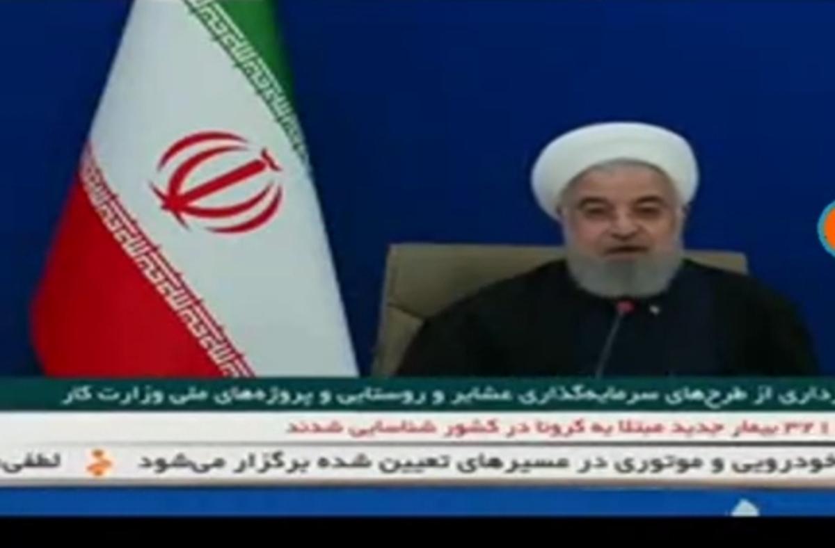 روحانی: واکسیناسیون از فردا در کشور آغاز میشود + ویدئو