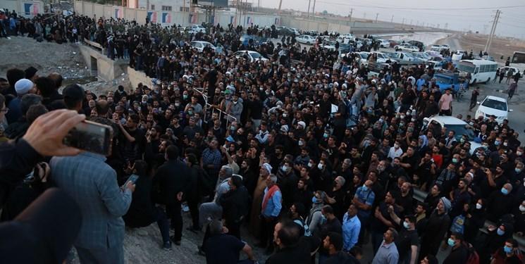 زائران اربعین به سمت مرزهای زمینی عراق نروند