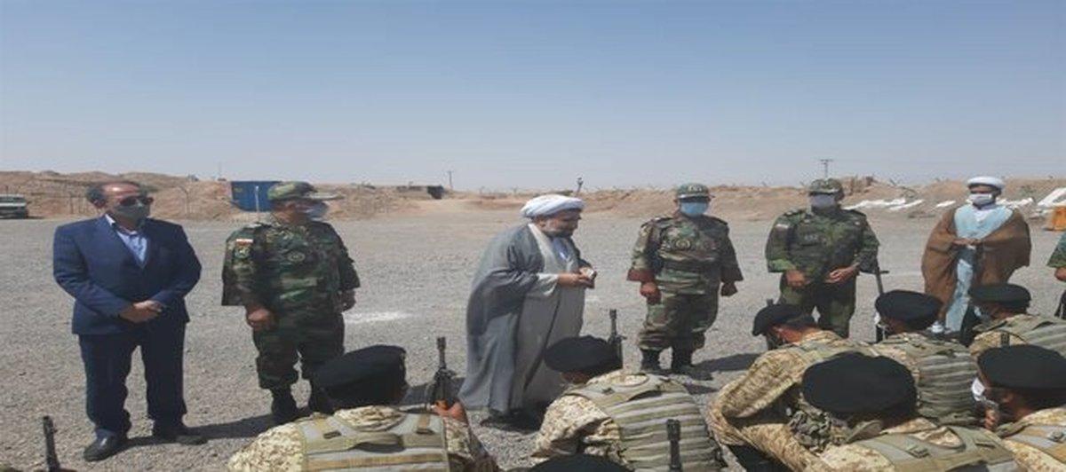 بازدید هیئت اعزامی سازمان قضایی نیروهای مسلح از مرزهای شرقی کشور