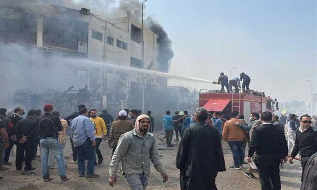 آتشسوزی در مصر ۲۰ کشته و ۲۴ زخمی برجا گذاشت