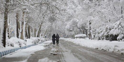 این جادهها امروز هم برفی و باراناند