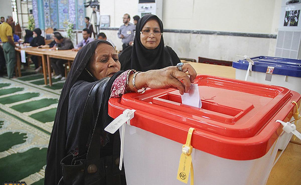 گزارش تصویری از ساعات اولیه رایگیری انتخابات ۱۴۰۰