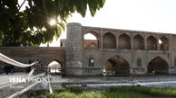 بسته شدن دهانه زیرین سیوسه پل در پی مرگ قهرمان واترپلو + تصاویر