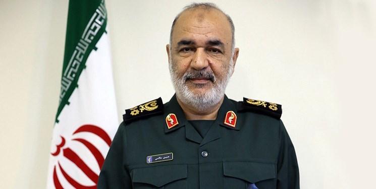 اظهارات سردار سلامی  درخصوص وضعیت نیروی دریایی سپاه