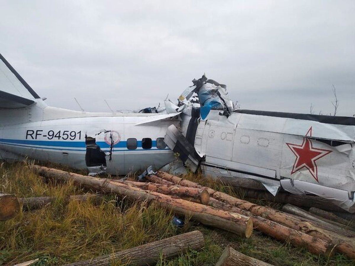 ۱۶ کشته در پی سقوط هواپیمای روس در منطقه تاتارستان