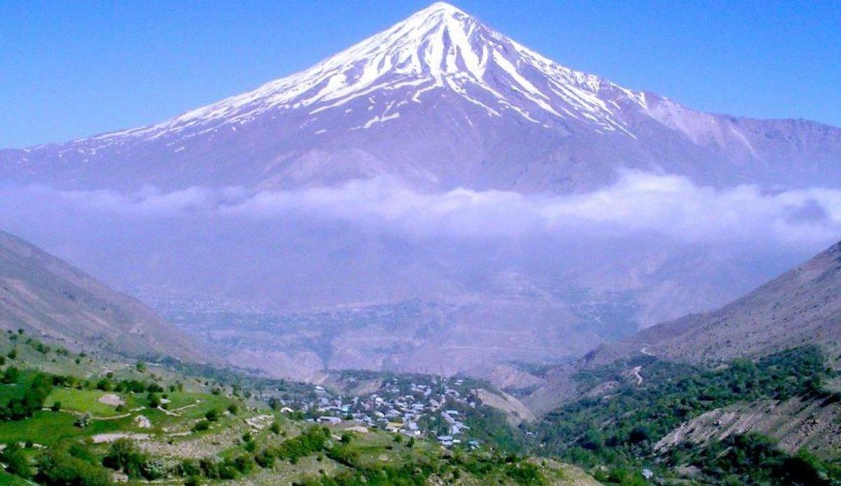 آتشفشان قله دماوند فعال نیست