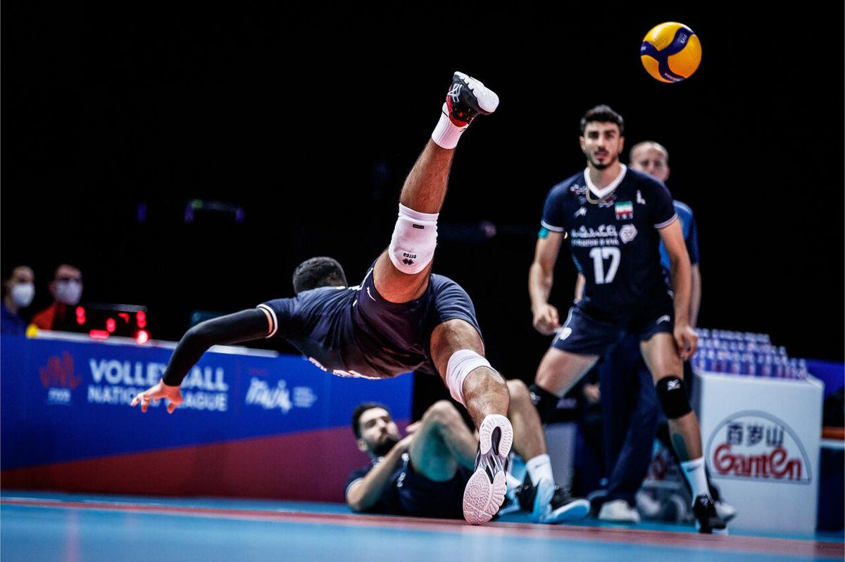 صعود والیبال ایران به رتبه هشتم ردهبندی جهانی اما دوم آسیا باقی ماند