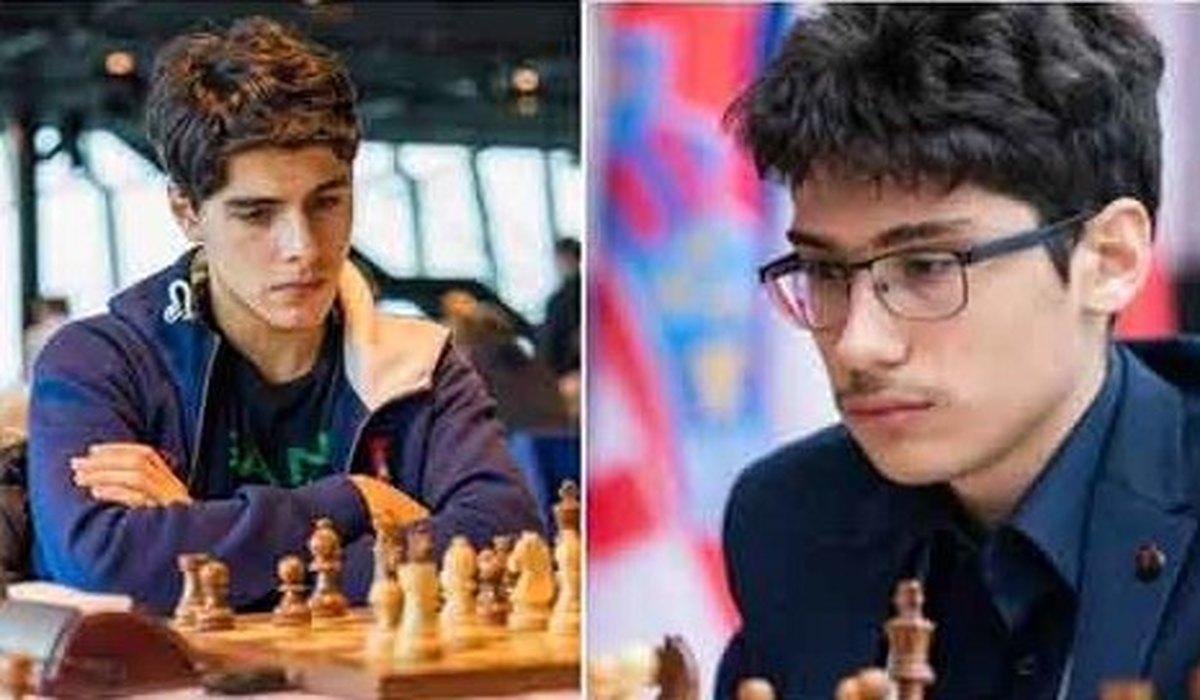تصویر غم انگیز از دو شطرنج باز ایرانی، رو به روی هم!