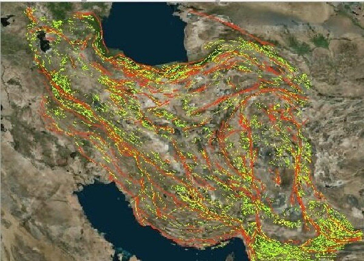 گسلهای مهم در اطراف ۱۴ کلانشهر کشور؛ ثبت بیش از ۱۷۰۰ زلزله در دو ماه پایانی سال ۹۹