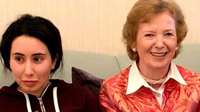 دختر حاکم دوبی | رئیسجمهوری سابق ایرلند : اشتباه بزرگی مرتکب شدهام