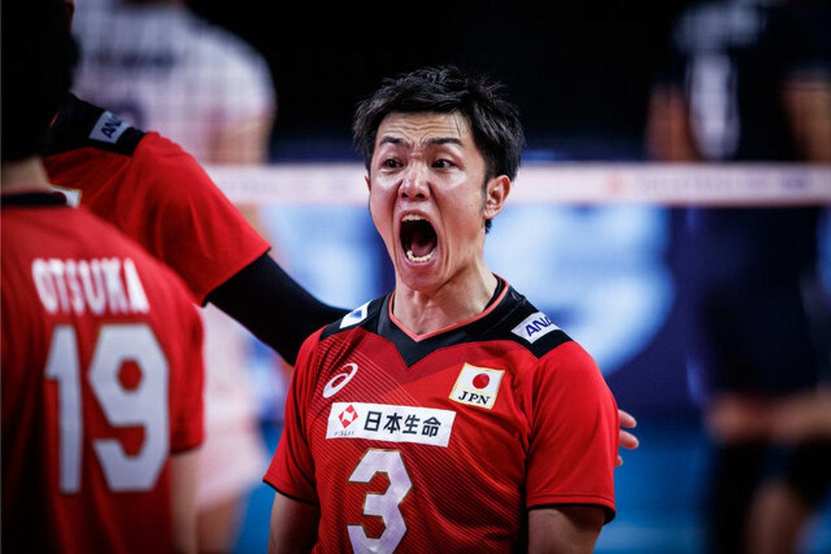 ساموراییها تیم ملی والیبال روسیه را به زانو درآوردند!عملکرد بینقص میزبان المپیک