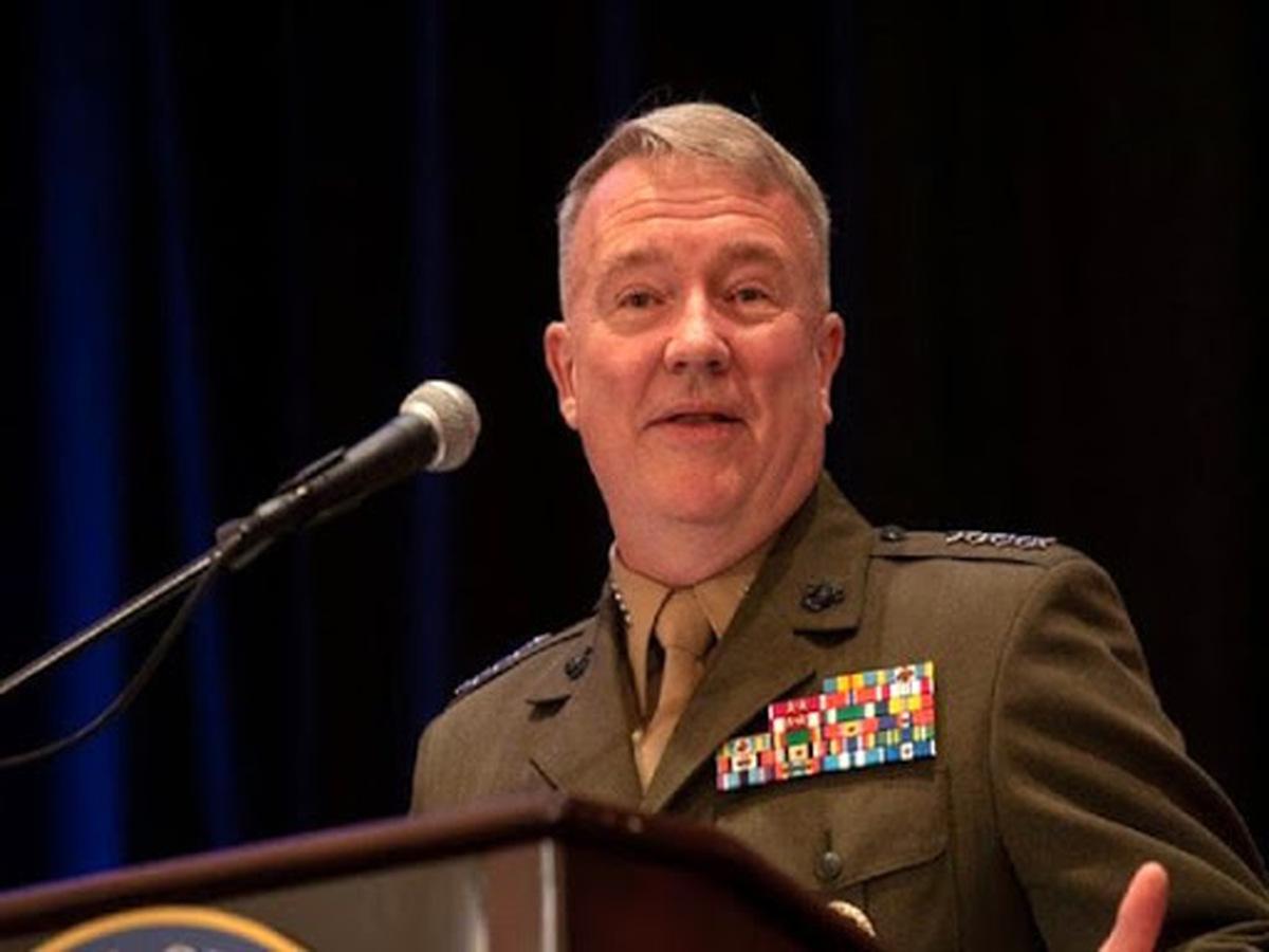 فرمانده سنتکام: ایران منشا بی ثباتی در عراق، سوریه و یمن است