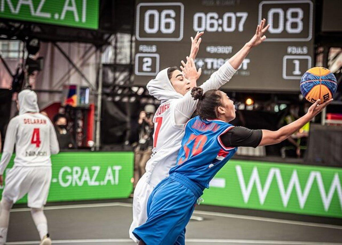 زنان بسکتبال ایران روی ریل باخت|مسابقات مجارستان هم با شکست آغاز شد