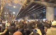 تجمع اعتراضی مقابل دانشگاه امیرکبیر به تشنج کشیده شد