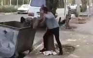 افرادی که کودک را به سطل زباله انداختند خود را به پلیس معرفی کردند