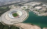 ورزشگاه آزادی برای دیدار ایران و کره جنوبی ضدعفونی شد +تصاویر
