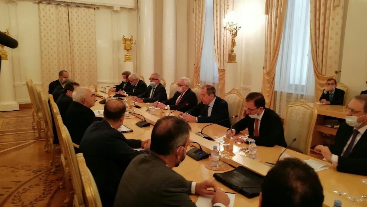 محمدجواد ظریف با سرگئی لاوروف دیدار و گفتوگو کرد.