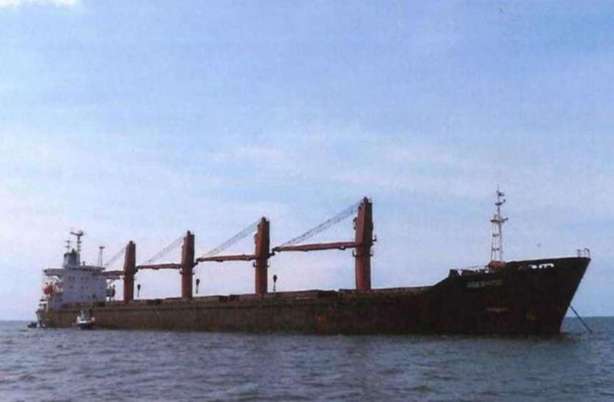 روسیه دو کشتی کره شمالی را توقیف کرد