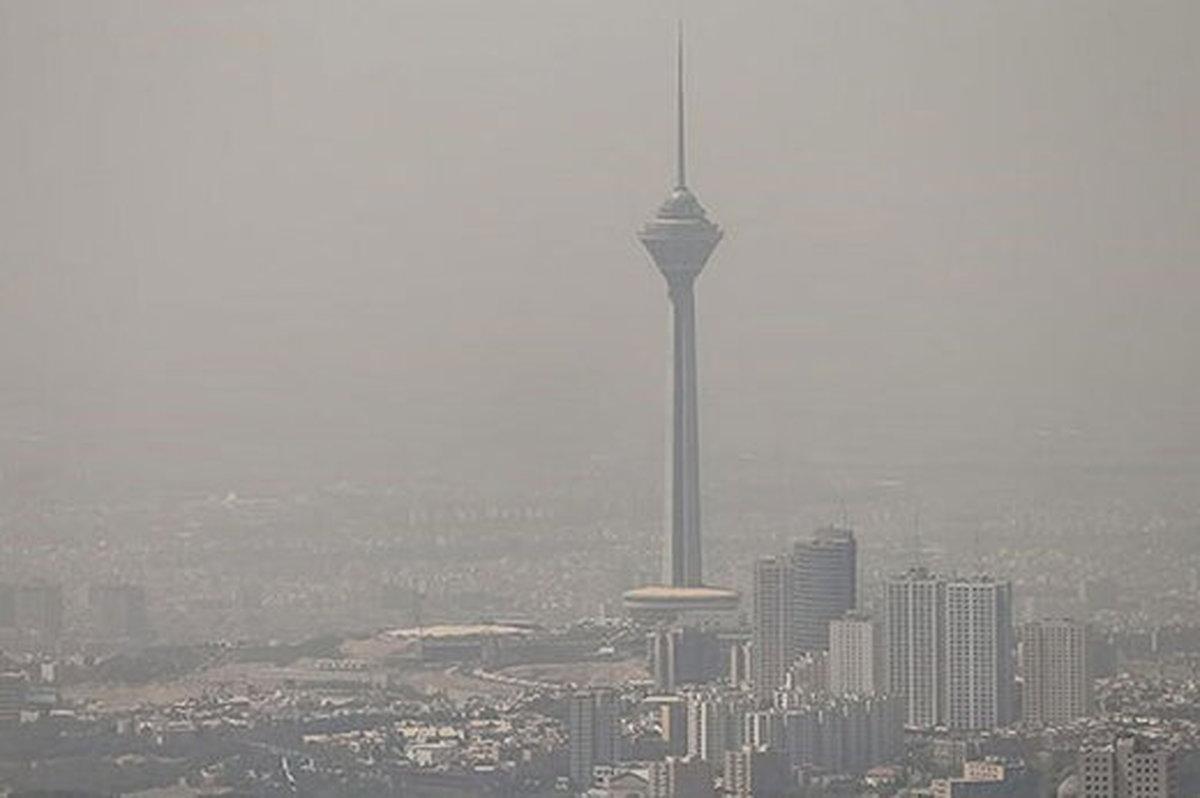 تشدید آلودگی هوا در تهران   پایتخت در وضعیت قرمز قرار گرفت