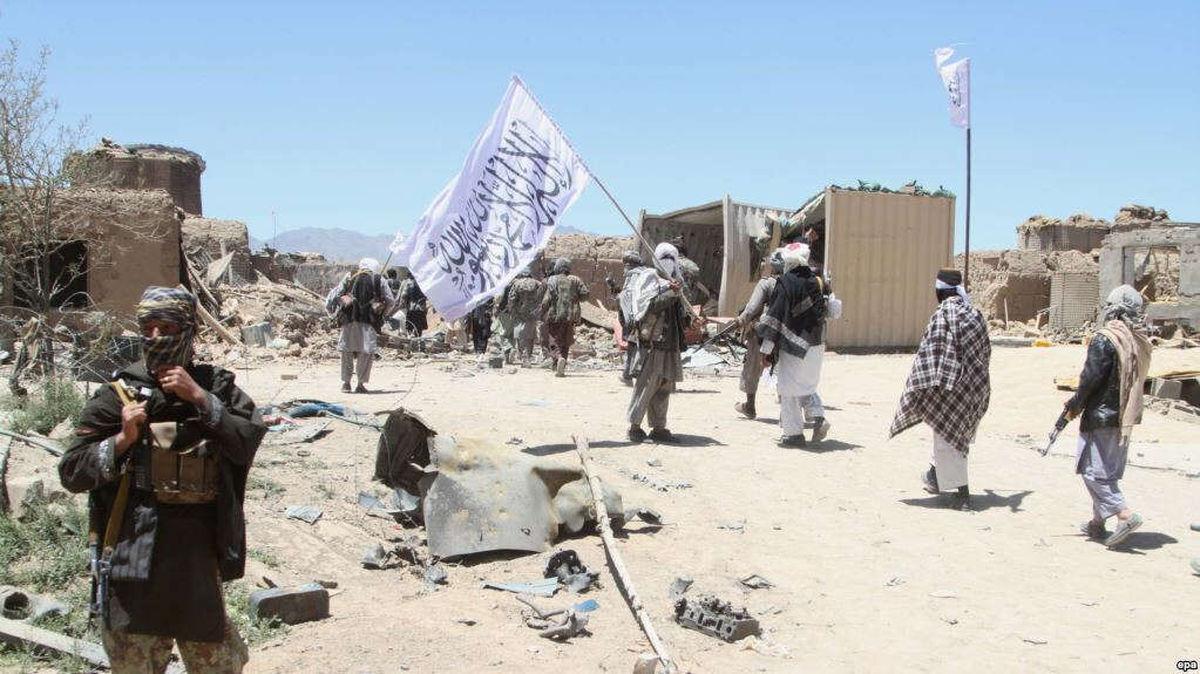 درگیری بین نیروهای دولتی و طالبان در غرب کشور