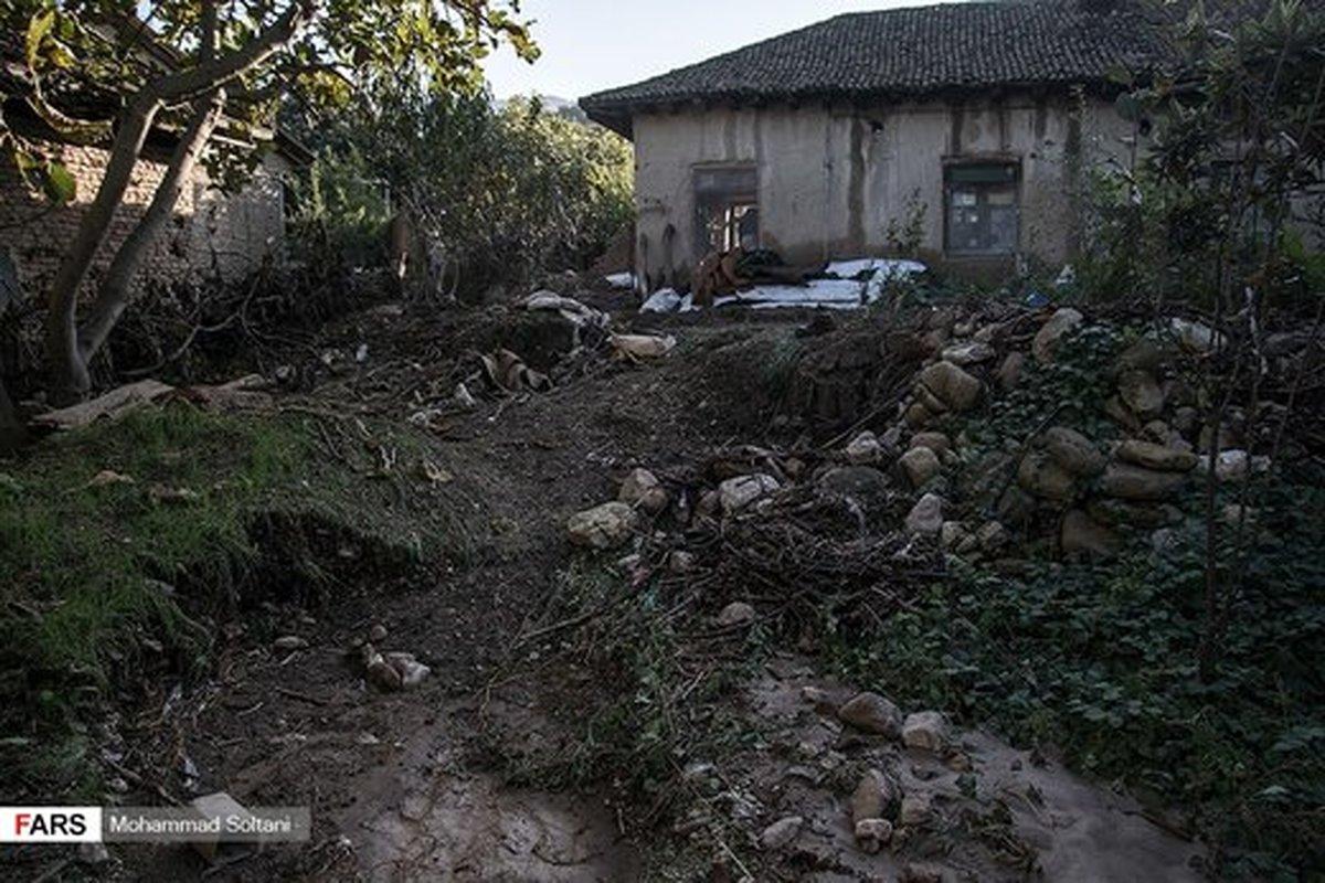 تصاویر | خساراتی که سیل در مازندران ایجاد کرد