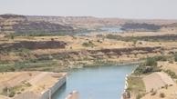 سازمان آب و برق خوزستان: ۷۰ درصد حجم مخزن سد کرخه خالی است