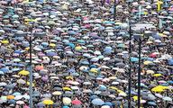 راهپیمایی ۲ میلیون نفری در هنگکنگ