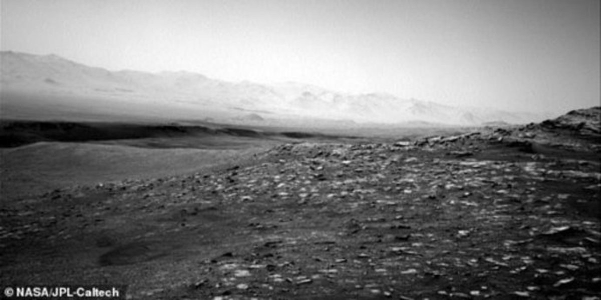 """جدیدترین تصاویر از """"مریخ"""" منتشر شد"""