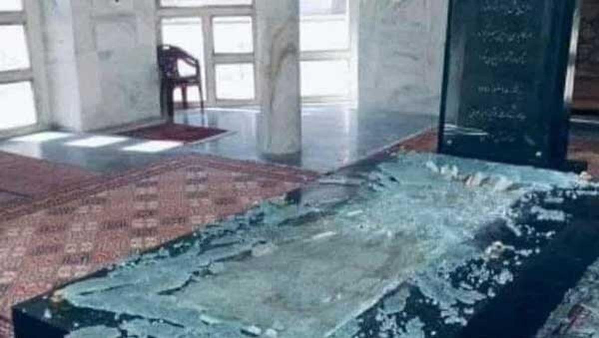 تخریب مقبره «احمدشاه مسعود» توسط طالبان