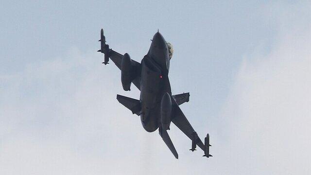 جنگندههای اف-۱۶   | در برابر متجاوزین از جنگنده های اف ۱۶ ترکیه استفاده می کنیم