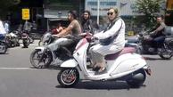 نظر پلیس در مورد موتورسواری زنان: هر کس گواهینامه موتور داشته باشد می تواند موتور سواری کند